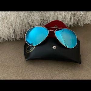 Ray-Ban glasses blue